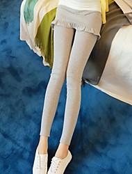 JANSA™ Women's Two Piece Like Falbala Slim Warm Pants