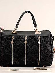 VENCHY Korean Fashion Lace Handbag  10107 Screen Color