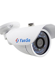 YanSe® 700TVL 3.6mm Metal aluminum D/N CCTV Camera IR 24 LED security Waterproof Wired 722CC