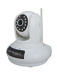 HOSAFE™ 1.0 Megapixel HD Wireless PTZ IP Camera with Micro SD Card Recording, Two Way Speak, Motion Detection