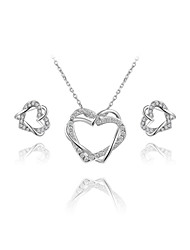 Jewelry-Necklaces / Earrings(Platinum Plated)Wedding / Party Wedding Gifts