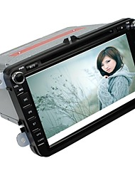 "8 ""2DIN android4.2 capacitivo carro dvd player para volkswagen com gps, bluetooth, ATV, rds, ipod, swc, wifi, canbus, rds, rádio"