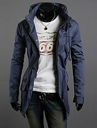 Brother Solid Color Causal Slim Jacket  JK23(Orange,Navy Blue,Emerald,Khaki,Black)