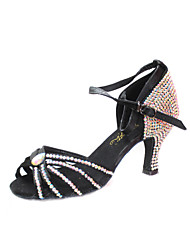 Satin / Rhinestone Modern / Ballroom Dance Shoes For Women (More Colors)