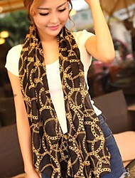 SUIDE Women's Extended Scarves Air Conditioning Is Prevented Bask In Shawls Han Edition Scarves XF24 Black