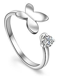 reine Frauen 925 versilbert hochwertige Handarbeit eleganten Ring