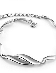 Ladies' Silver Chain With Bracelet