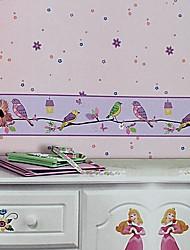 mur papier mural, style moderne de la non-tissé papier peint peu de place pour les enfants de fleurs