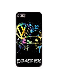 Personalized Phone Case - Car Design Metal Case for iPhone 5/5S