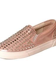 pattini delle donne di conforto piani del tallone di modo sintetico delle scarpe da tennis