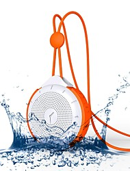 MOCREO Tictac Portable Wireless Bluetooth Speaker IPX4 Water-resistance Waterproof with 3.5mm AUX In, Hands-free
