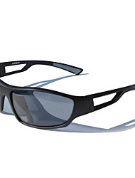 Sunglasses Men / Women / Unisex's Classic / Lightweight / Sports / Fashion Wrap Black / White Cycling Full-Rim