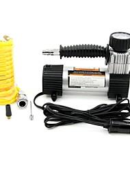 alto volume tirol bomba carro 100psi portátil 12v fluxo super-compressor de ar auto inflador de pneus elétrica