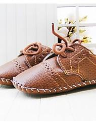 Baby Shoes Party & Sera Cuoio sintetico Sneakers alla moda Marrone