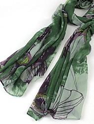 женские китайском стиле живописи тушью хлопок шарфы