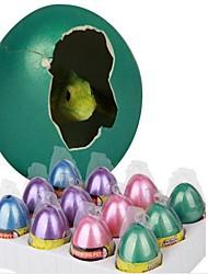 grande de água vai crescer um dinossauro brinquedos ovo (cor aleatória)
