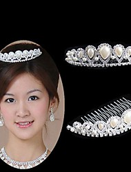 Women's Rhinestone Headpiece - Wedding/Special Occasion Tiaras