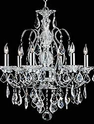 MAX:60W Lustres ,  Tradicional/Clássico Cromado Característica for Cristal MetalQuarto / Sala de Jantar / Quarto de Estudo/Escritório /