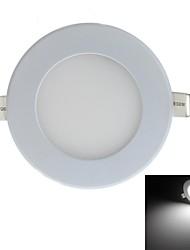 4W Luminária de Painel 15 SMD 2835 380-400 lm Branco Natural Decorativa AC 100-240 V 1 pç