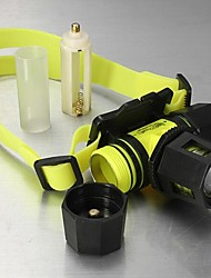 Lights Headlamps LED 1800 Lumens 3 Mode Cree XM-L T6 18650 Waterproof / RechargeableCamping/Hiking/Caving / Everyday Use / Diving/Boating