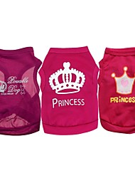 A Pack Of 3 Dog Vests Different Pattern group sales (Assorted Sizes)