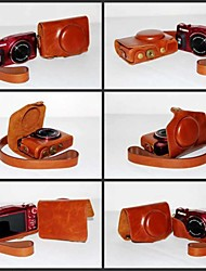 Pajiatu PU Leather Camera Protective Carrying Case Bag Cover for Canon PowerShot SX700 HS