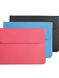 LSS 11.6'' Horizontal Version Magnetic Button Protective Sleeve for Macbook Air (Assorted Colors)