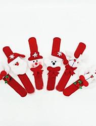Weihnachten Spielzeug Handschlaufe für Kinder 6pcs