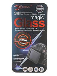 Hartglas Kameradisplayschutzfolie für Nikon D5300