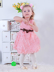 Girl's Vest Flower Dress and Wedding Dress