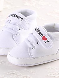 Boys' Shoes First Walker Flat Heel Cotton Fashion Sneakers with Magic Tape Shoes