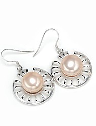 AS 925 Silver Jewelry  Shell pearl ear hook