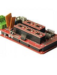 3d Mega2560 de lduino kit de gt046 + 1,4 rampe étendent bouclier + a4988 stepper pilote pour imprimante 3d