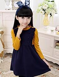 chicas coreanas vestido de manga larga