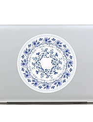 SKINAT Removable china blue and white porcelain tablet laptop computer sticker for macbook Pro 13,Air 13,205*270mm