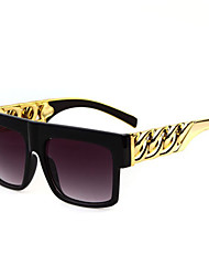 Anti-Reflective Square Plastic Classic Sunglasses