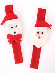 2шт Рождество пощечину круг браслет