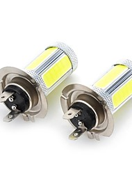 Marsing High Power H7 25W 6500K 1800lm 5-COB LED Cool White Car Head Light / Foglight (12~24V / 2 PCS)