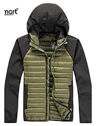 Lesmart® Men's Slim Short Paragraph Slim Down Winter Stitching