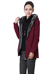 mokio vrouwen Koreaanse mode causale fleece dikke vacht