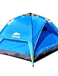 ROCVAN 3 Season A109 2 Person Double Layer Fiberglass Pole Automatic Tent
