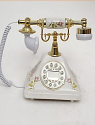 Novelty Retro Style Ceramic Home Decor Telephone with ID Display