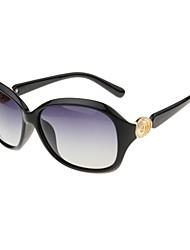 Sunglasses Women's Classic / Retro/Vintage / Fashion / Polarized Oversized Black Sunglasses Full-Rim