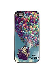 Personalized Phone Case - Balloon Design Metal Case for iPhone 5/5S