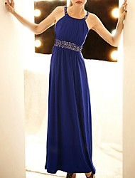 un lungo abito elegante diamonade donne OSIM