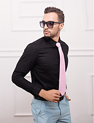 Schwarz Slim Fit Langarm-Shirt