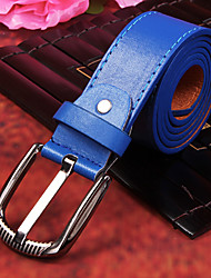 Ocean Blue PU Belt