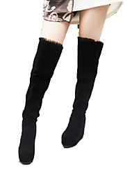winble женщин 2014 новая зимняя мода теплый Мартин ботинок снег загрузки (черный) 04a0518