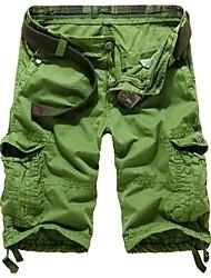multi-bolso calções de moda do homem
