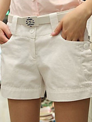 koreanische Art modische kurze kurze Hose weiß